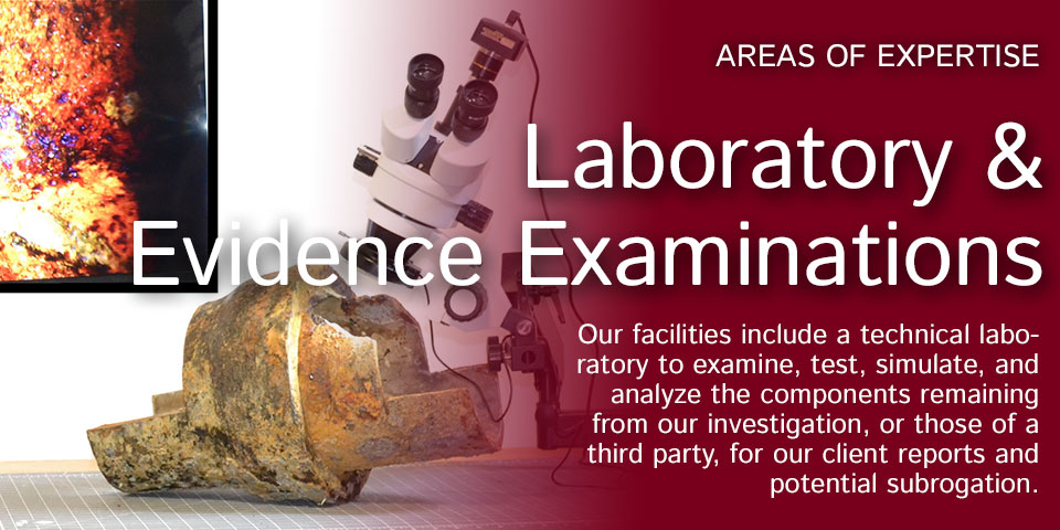Laboratory and Evidence Examinations