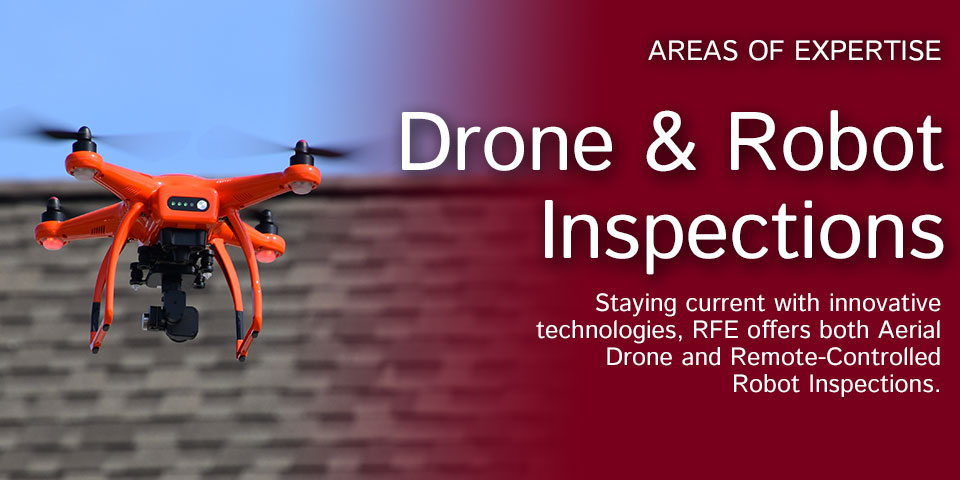 Drone and Robot Inspections